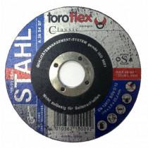Brusný kotouč TOROFLEX Classic Ø115 x 8,0 x 22,22 mm - na ocel