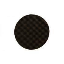 Leštící molitan Ø150 x 25mm, černý, vaflový
