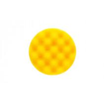 Leštící molitan Ø85 x 25mm, žlutý, vaflový