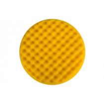 Leštící molitan Ø200 x 35mm, žlutý, vaflový