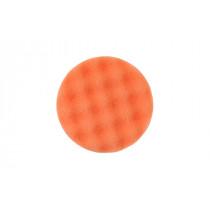 Leštící molitan Ø85 x 25mm, oranžový, vaflový