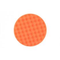 Leštící molitan Ø150 x 25mm, oranžový, vaflový